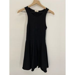 John Craft Sleeveless Mini Skater Dress Black OS